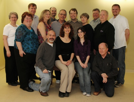 Cast of Miller and His Men for Garrison Theatricals' 2011 Production