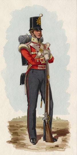 83rd Regiment of Foot - 1838 uniform